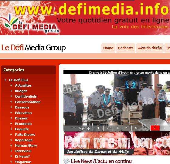 Le Defi Media Group Port Louis Mauritius