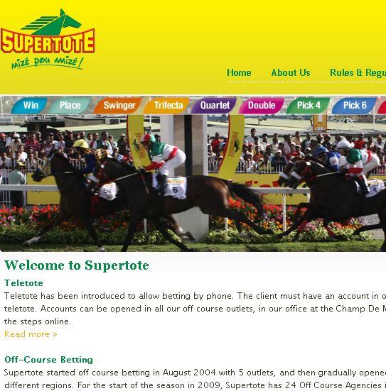 Supertote mauritius football betting making money with sports betting